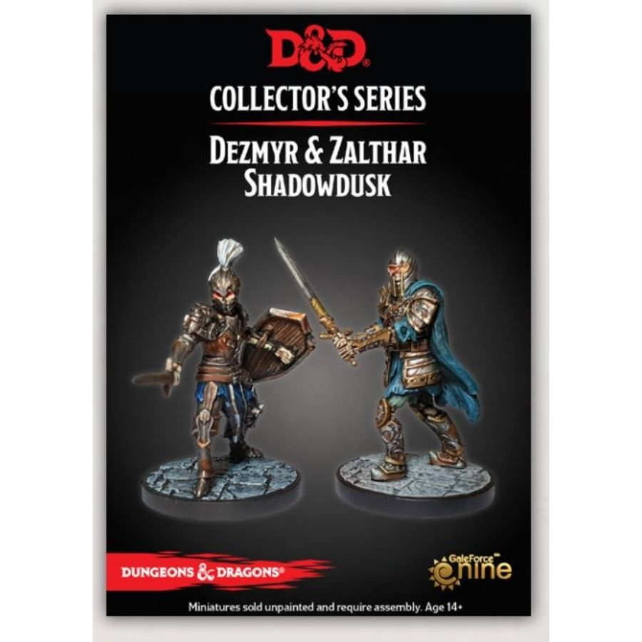 D&D Collector's Series: Dezmyr & Zalthar Shadowdusk-Dungeons & Dragons-Multizone: Comics And Games | Multizone: Comics And Games