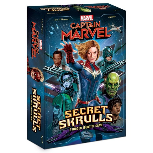 Captain Marvel Secret skrulls