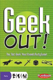 Geek Out! (ENG)-card game-Multizone: Comics And Games