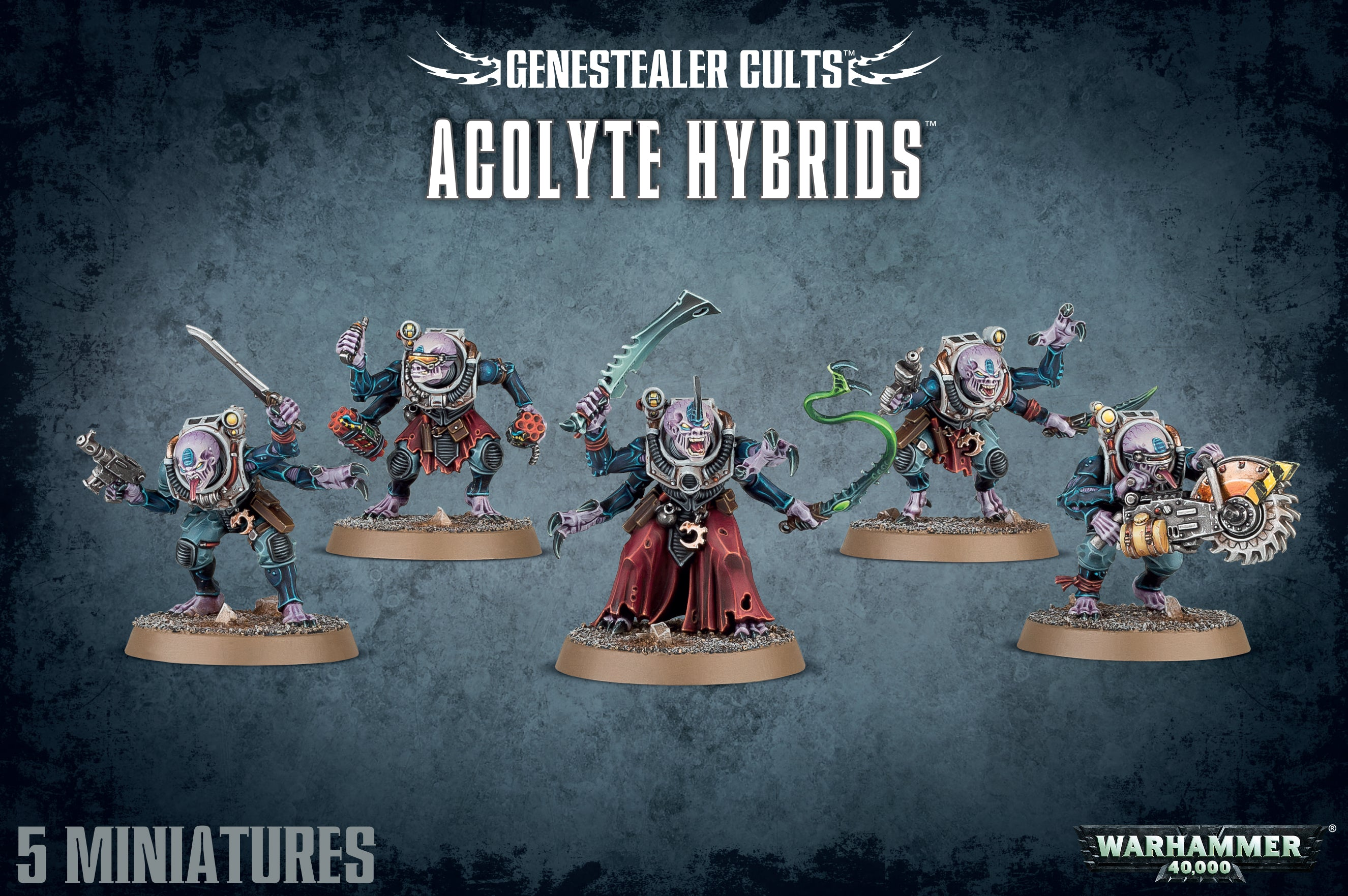 Acolyte Hybrids / Hybrid Metamorphs-Warhammer 40k-Multizone: Comics And Games | Multizone: Comics And Games