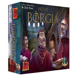 House of Borgia-Board game-Multizone: Comics And Games | Multizone: Comics And Games