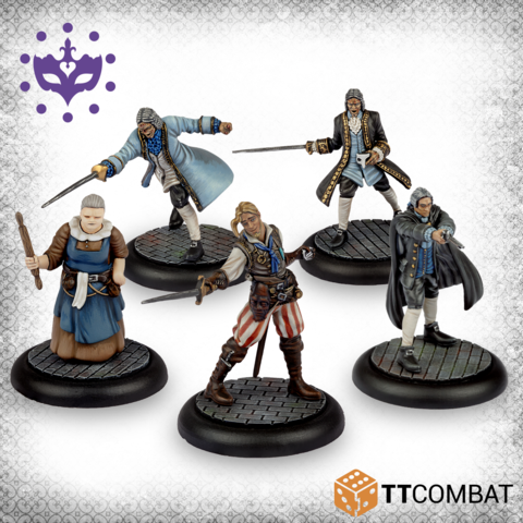 Hunting Party-Miniatures|Figurines-Multizone: Comics And Games | Multizone: Comics And Games