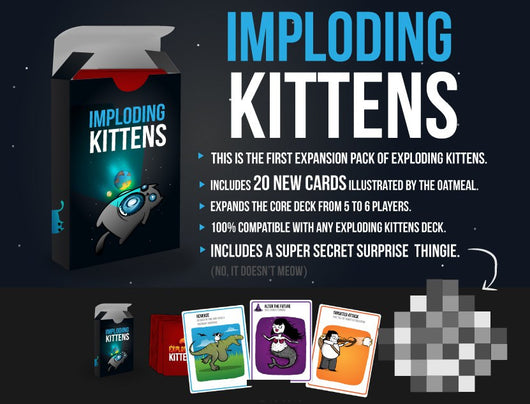 Imploding Kittens (ENG)-card game-Multizone: Comics And Games