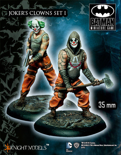 JOKER'S CLOWNS SET I-Batman Miniature Game-Multizone: Comics And Games | Multizone: Comics And Games