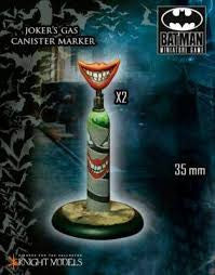 JOKER'S GAS CANISTER MARKER-Batman Miniature Game-Multizone: Comics And Games | Multizone: Comics And Games
