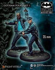 GOTHAM POLICE SET I-Miniatures|Figurines-Multizone: Comics And Games | Multizone: Comics And Games