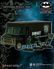 GOTHAM POLICE VAN: SCENERY-Miniatures|Figurines-Multizone: Comics And Games | Multizone: Comics And Games