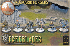 Kuzaarik Forgers: Starter Box-Freeblades-Multizone: Comics And Games | Multizone: Comics And Games