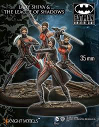 LADY SHIVA & THE LEAGUE OF SHADOWS-Miniatures|Figurines-Multizone: Comics And Games | Multizone: Comics And Games