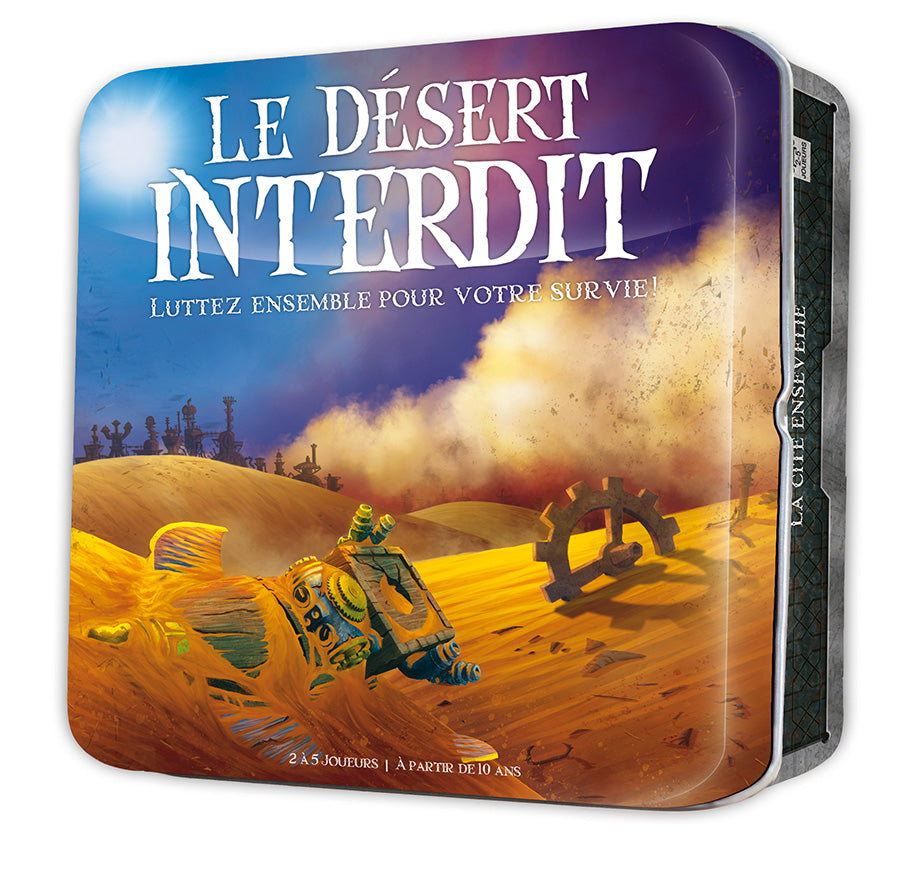 Le desert Interdit-Board game-Multizone: Comics And Games | Multizone: Comics And Games