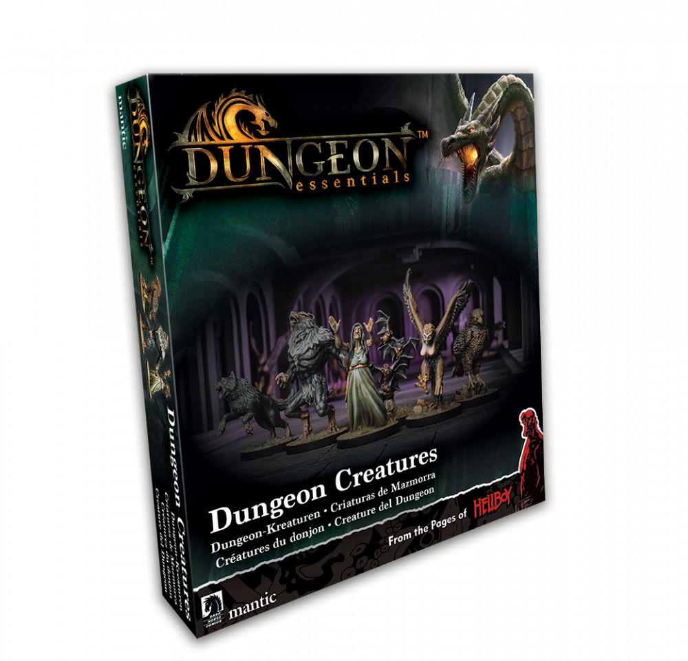 Dungeon Essentials: Dungeon Creatures | Multizone: Comics And Games