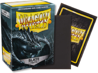 Matte Slate Dragon Shield Sleeves (100ct)-Dragon Shield-Multizone: Comics And Games | Multizone: Comics And Games