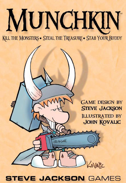 Munchkin (ENG)-Board game-Multizone: Comics And Games | Multizone: Comics And Games