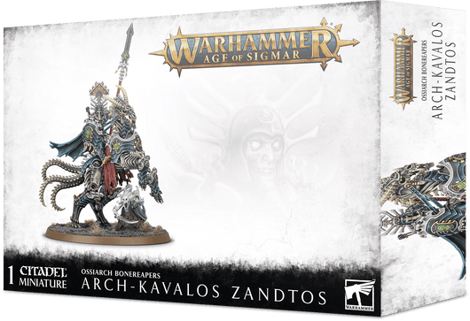 Arch-Kavalos Zandtos, Dark Lance of Ossia-Warhammer AOS-Multizone: Comics And Games