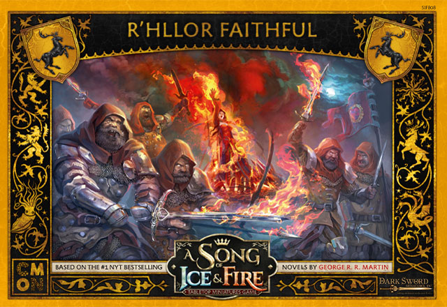 A Song of Ice & Fire: Tabletop Miniatures Game R'hllor Faithful | Multizone: Comics And Games