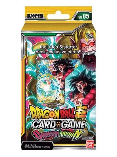 Crimson Sayan - Starter Deck - DBS-Dragon Ball Super-Multizone: Comics And Games | Multizone: Comics And Games