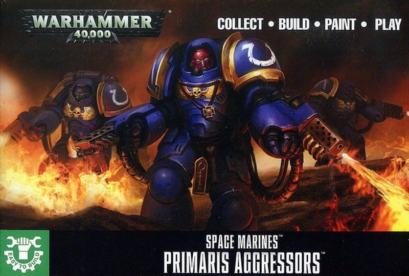 Easy To Build: Primaris Aggressors-Miniatures|Figurines-Multizone: Comics And Games | Multizone: Comics And Games