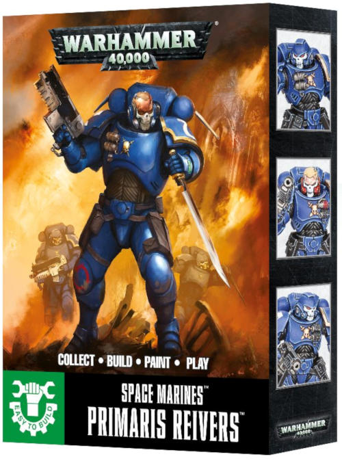 Easy To Build: Primaris Space Marine Reivers-Miniatures|Figurines-Multizone: Comics And Games | Multizone: Comics And Games