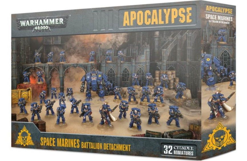 Apocalypse Space Marines Battalion Detachment-Warhammer 40k-Multizone: Comics And Games | Multizone: Comics And Games