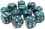 6 sided 12 piece set Dices
