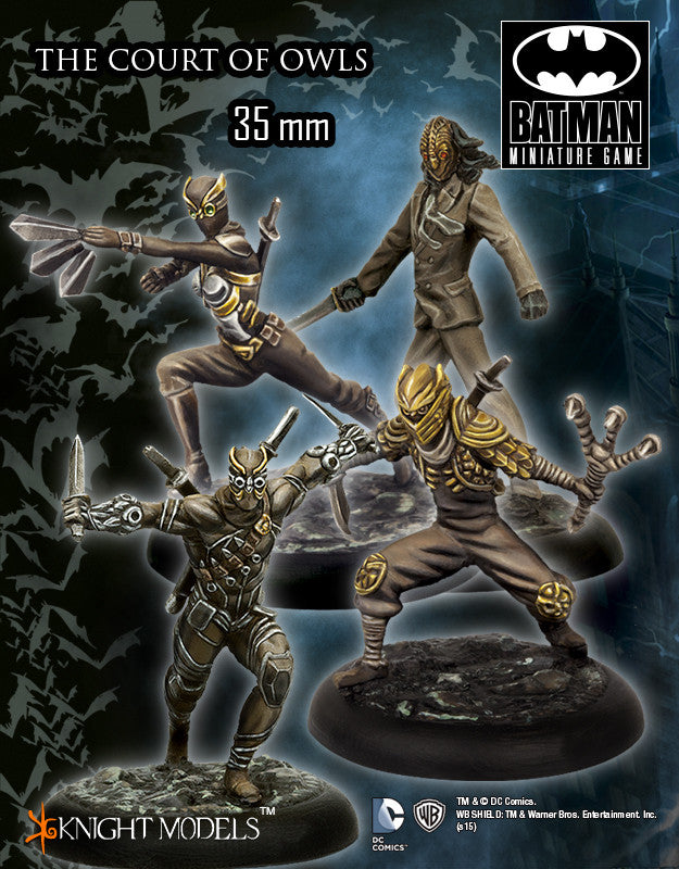 THE COURT OF OWLS-Batman Miniature Game-Multizone: Comics And Games | Multizone: Comics And Games