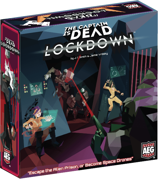 The Captain is dead - Lockdown-Board game-Multizone: Comics And Games | Multizone: Comics And Games