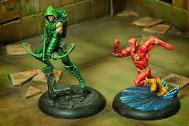 THE FLASH & GREEN ARROW-Miniatures|Figurines-Multizone: Comics And Games | Multizone: Comics And Games