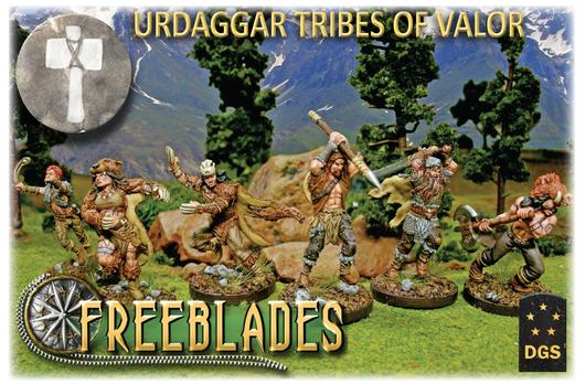 Urdaggar Tribes of valor: Starter Box-Freeblades-Multizone: Comics And Games