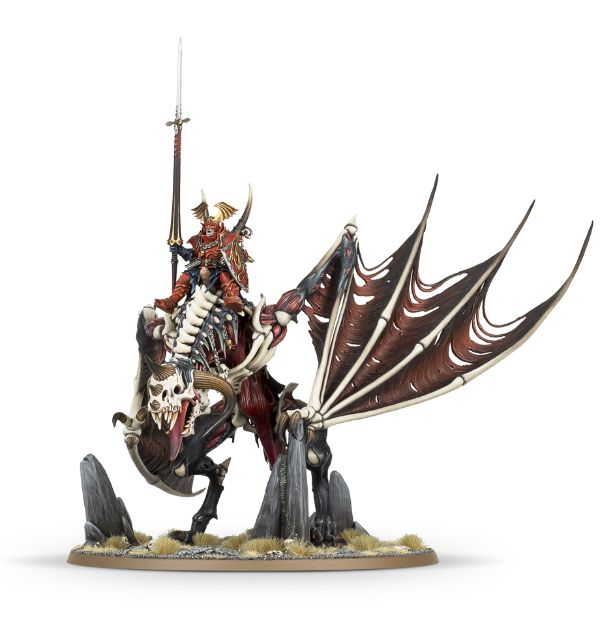 Vampire Lord on Zombie Dragon-Miniatures|Figurines-Multizone: Comics And Games | Multizone: Comics And Games