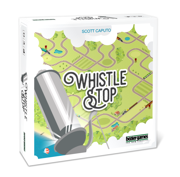 Whistle Stop-Board game-Multizone: Comics And Games | Multizone: Comics And Games