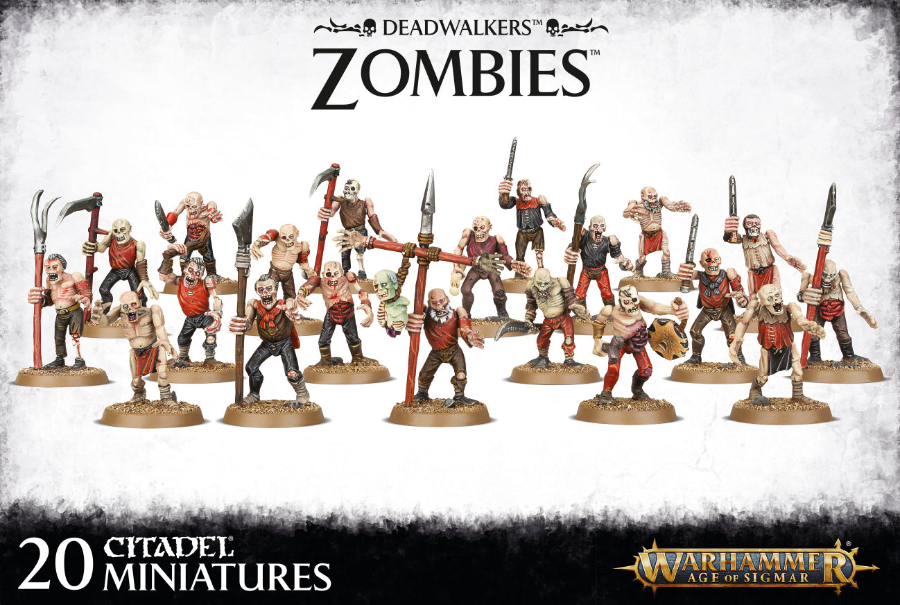 Deadwalkers Zombies-Miniatures|Figurines-Multizone: Comics And Games | Multizone: Comics And Games