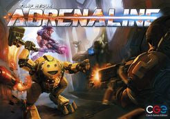 Adrenaline (ENG)-Board game-Multizone: Comics And Games | Multizone: Comics And Games