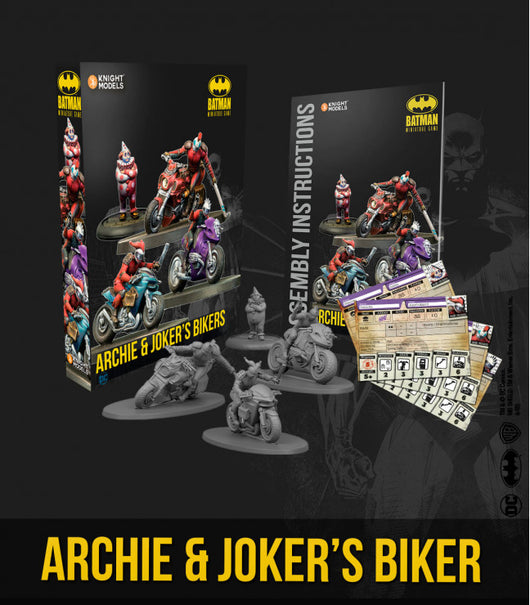 ARCHIE & JOKER'S BIKERS-Batman Miniature Game-Multizone: Comics And Games