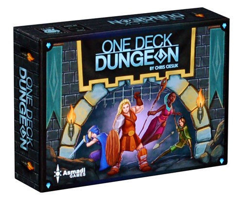 One deck dungeon-Board game-Multizone: Comics And Games | Multizone: Comics And Games