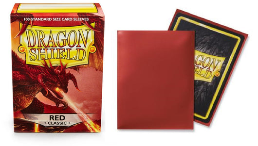Classic Red Dragon Shield Sleeves (100ct)