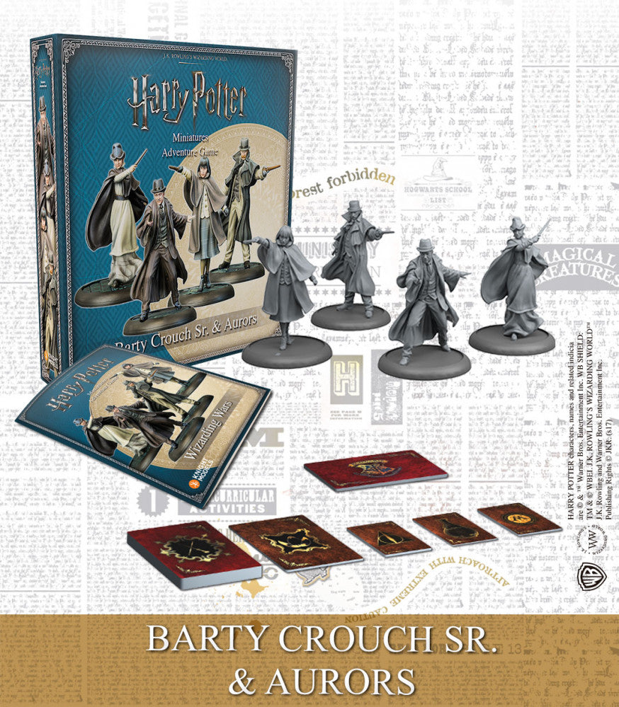 BARTY CROUCH SR & AURORS-Harry Potter Miniature Game-Multizone: Comics And Games | Multizone: Comics And Games