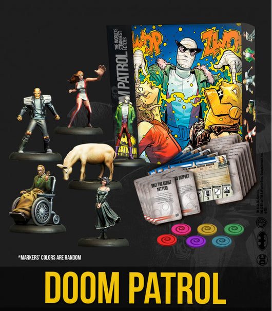 Doom Patrol Batbox-Miniatures|Figurines-Multizone: Comics And Games