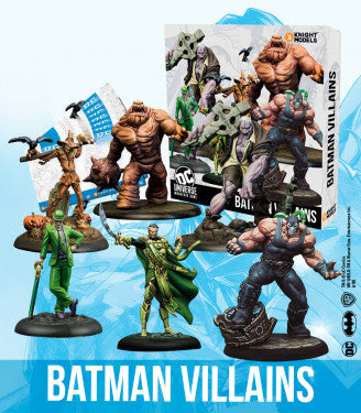 Batman Villains (BOX)-Batman Miniature Game-Multizone: Comics And Games | Multizone: Comics And Games