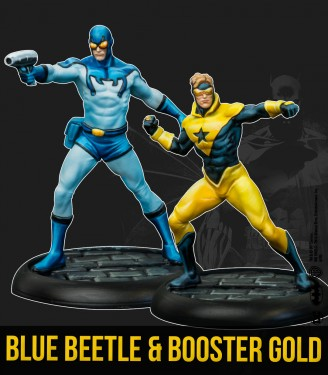 BLUE BEETLE & BOOSTER GOLD (MV)