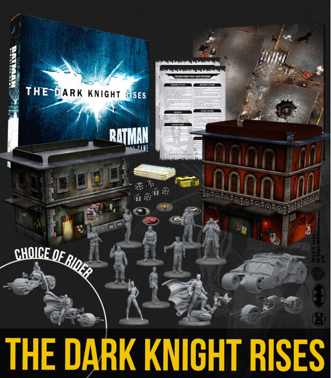 Dark knight rises game box-Miniatures|Figurines-Multizone: Comics And Games | Multizone: Comics And Games