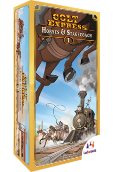Colt express expansion: Horses & Stagecoach-Board game-Multizone: Comics And Games | Multizone: Comics And Games