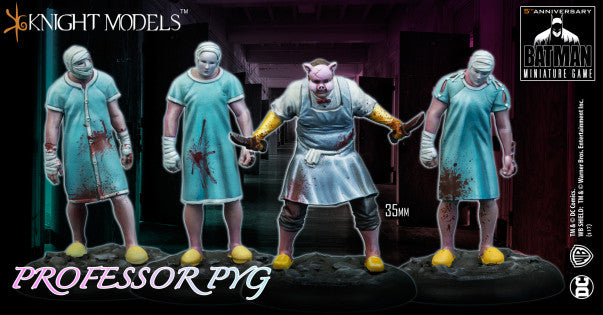 PROFESSOR PYG & DOLLOTRONS-Miniatures|Figurines-Multizone: Comics And Games | Multizone: Comics And Games