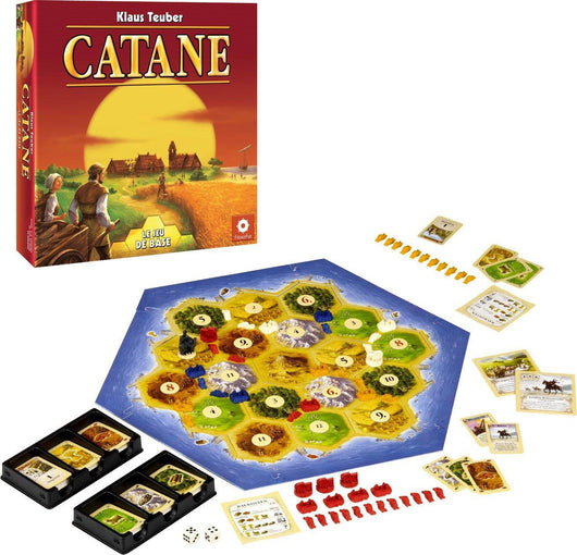 Catane (FR)-Board game-Multizone: Comics And Games