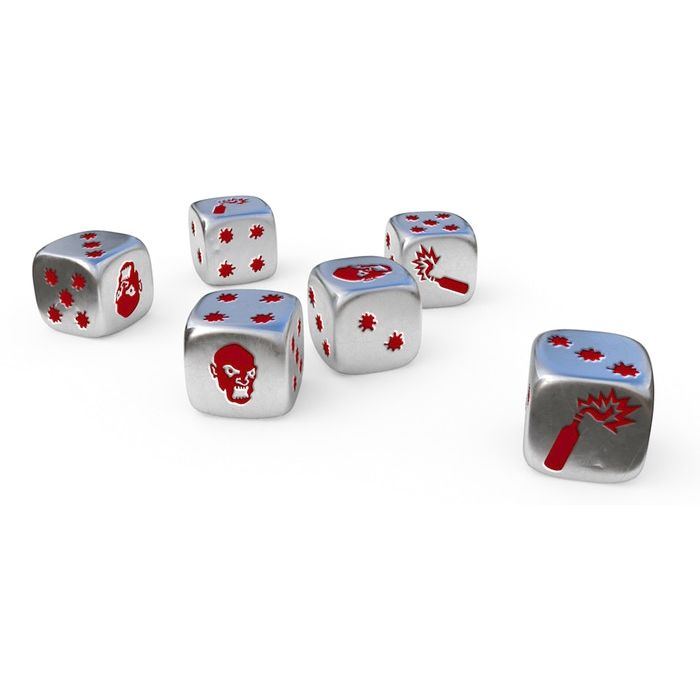 Zombicide 2.0: Full Metal Dice Set | Multizone: Comics And Games