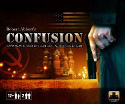 Confusion: Espionnage and Deception in the Cold War-Board game-Multizone: Comics And Games | Multizone: Comics And Games
