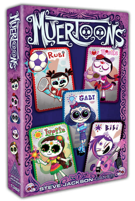 Muertoons-Board Game-Multizone: Comics And Games | Multizone: Comics And Games