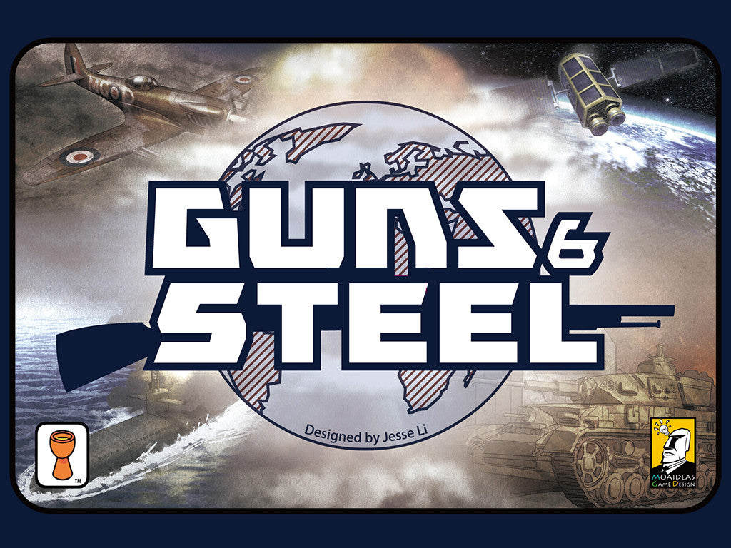 Guns and Steel (ENG)-card game-Multizone: Comics And Games | Multizone: Comics And Games