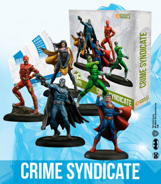 Crime Syndicate (BOX)-Miniatures|Figurines-Multizone: Comics And Games