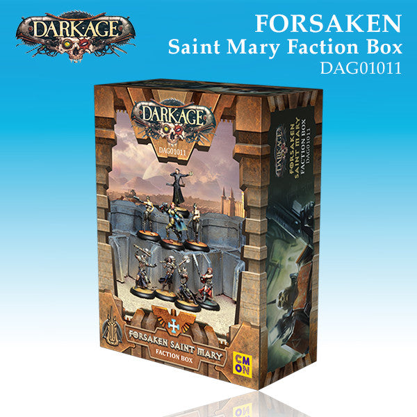 Forsaken Saint Mary Faction Box-Miniatures|Figurines-Multizone: Comics And Games | Multizone: Comics And Games