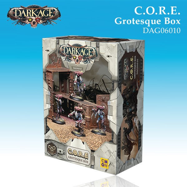 C.O.R.E. Grotesque Unit Box (4)-Darkage-Multizone: Comics And Games | Multizone: Comics And Games
